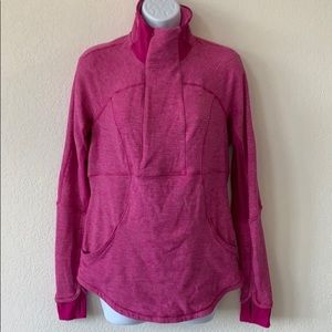 Lululemon 1/2 zip base runner jacket